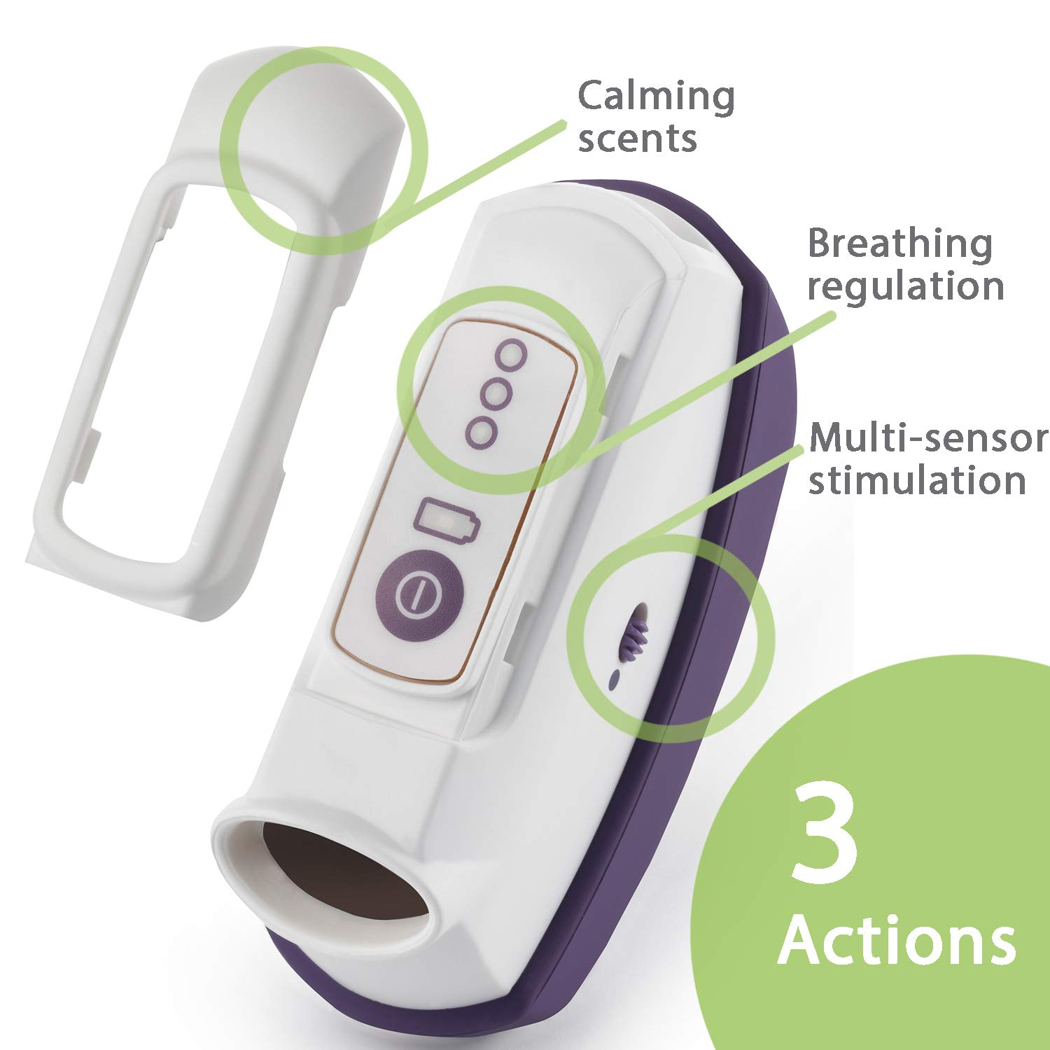 Handy device to reduce anxiety